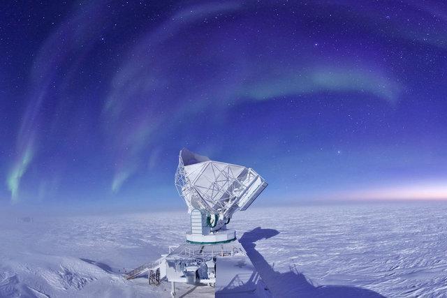 درک بهتر هستی با تلسکوپ موجود در قطب جنوب