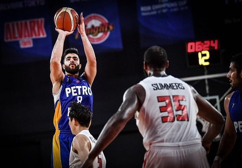 بسکتبال باشگاه های آسیا، پتروشیمی، لیائونینگ را 100 تایی کرد، نماینده ایران به نیمه نهایی رسید