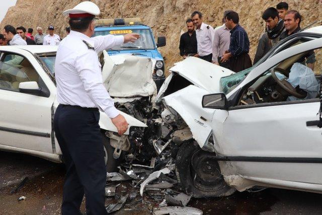 تصادف 3سواری در محور ایلام-مهران