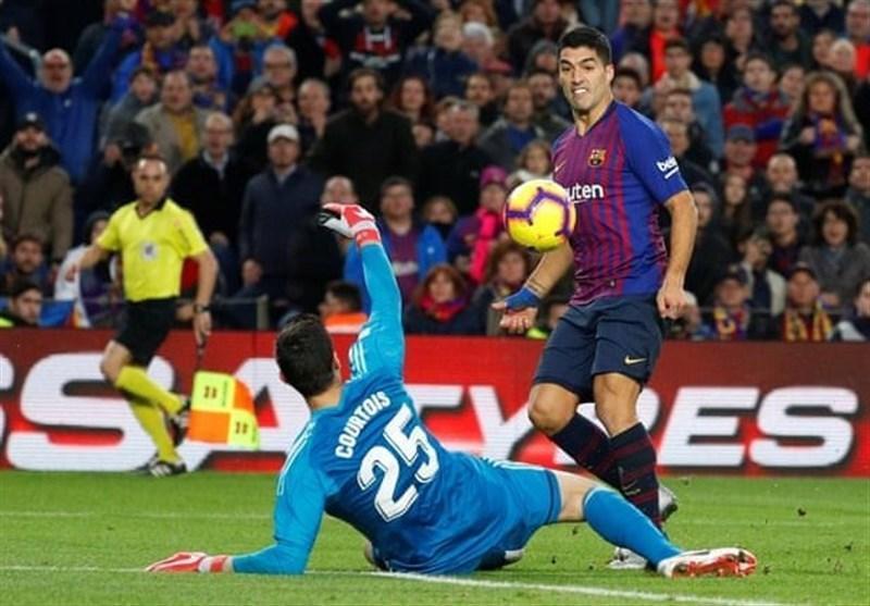 فوتبال دنیا، بارسلونا با 5 گل رئال مادرید را تحقیر کرد، هت تریک سوارس، لوپتگی را در آستانه اخراج قرار داد