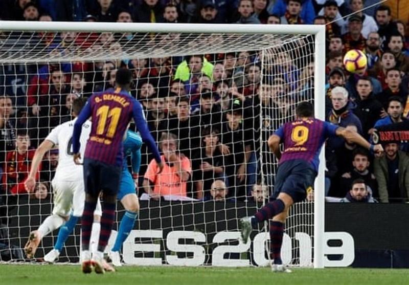 فوتبال دنیا، پنج تایی شدن رئال مادرید در مسلخ بارسلونا