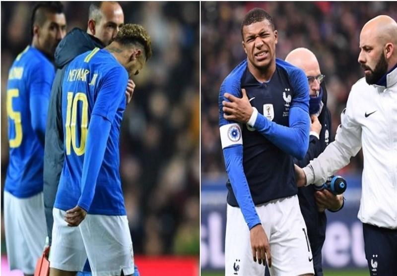 فوتبال دنیا، ویروس فیفا گریبان پاری سن ژرمن را گرفت، احتمال نرسیدن امپابه و نیمار به مصاف با لیورپول