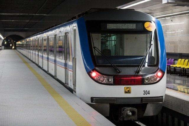 اختلال در حرکت قطارهای خط 5 مترو