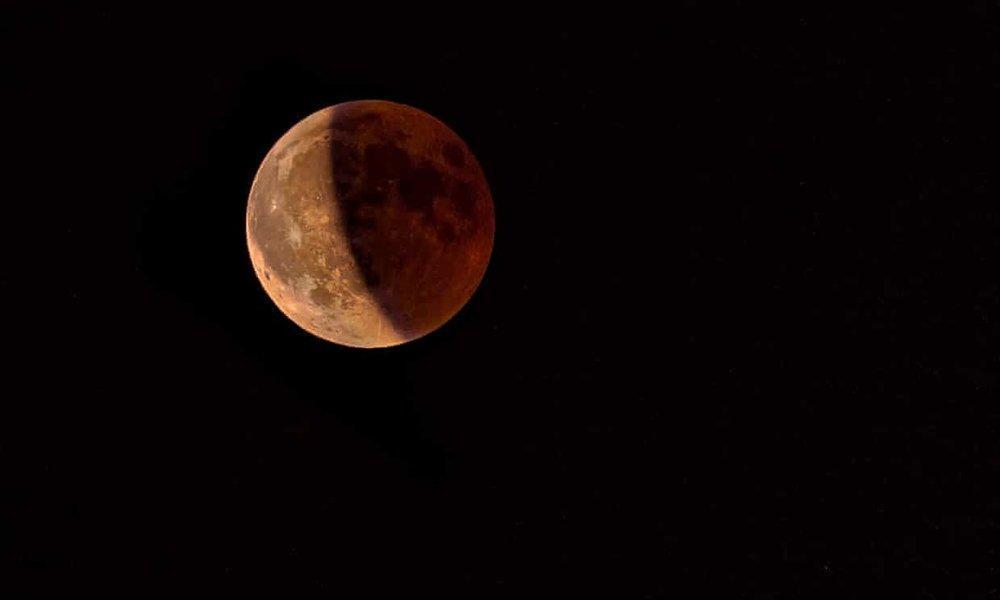 چرا ماه گرفتگی در ایران کامل نیست؟