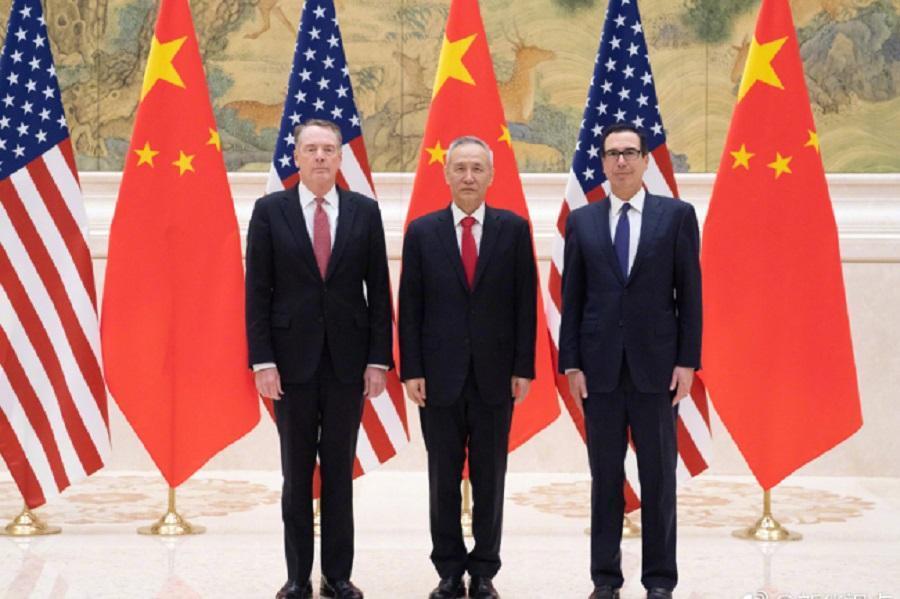 سومین دور مذاکرات تلفنی چین و آمریکا برگزار گردید