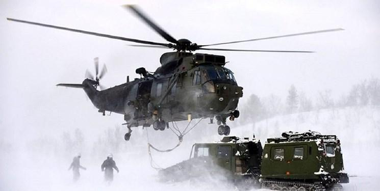 مواضع نظامی انگلیس در قطب شمال تقویت می گردد