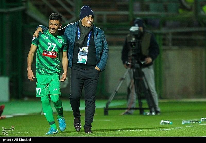 منصوریان: کامبک ذوب آهن جزو زیبایی های فوتبال بود، تا لحظه آخر برای صعود جنگیدیم