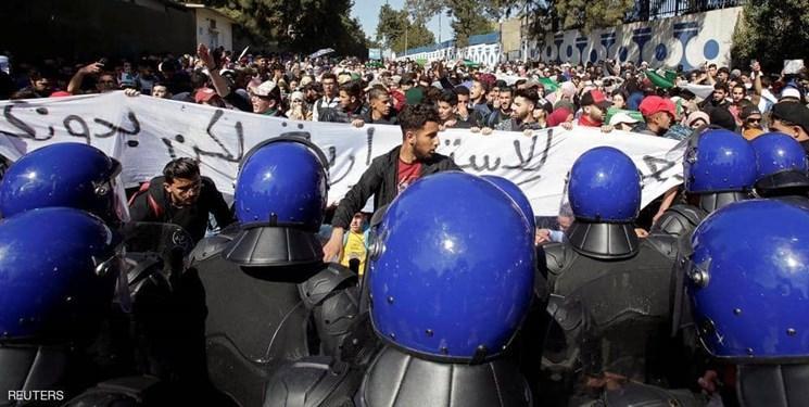 اعتراضات در الجزایر متروی الجزیره را تعطیل کرد