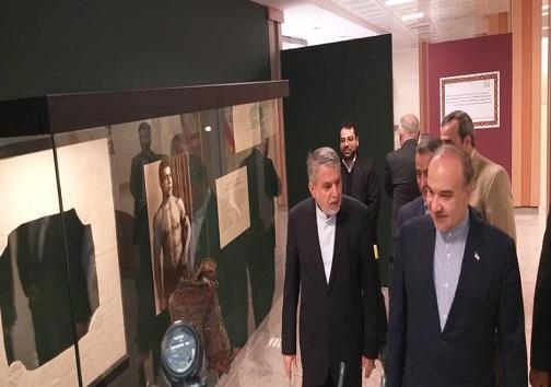 حضور صالحی امیری و سلطانی فر در موزه کمیته ملی المپیک