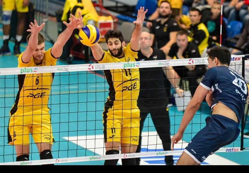 والیبال لیگ قهرمانان اروپا، درخشش عبادی پور در روز پیروزی بر زنیت