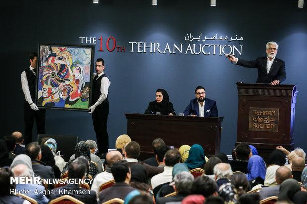 حراج تهران یکی از رویدادهای مهم در حوزه هنرهای تجسمی ایران