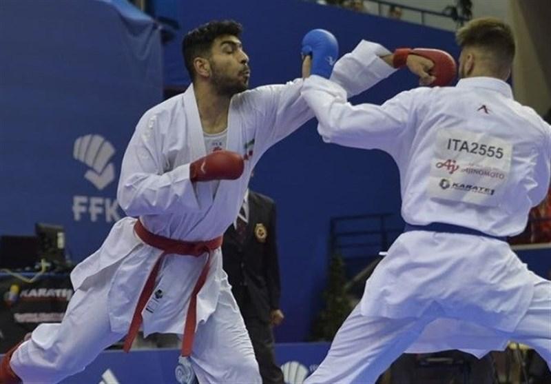 کاراته وان ترکیه، اباذری و قراری زاده فینالیست شدند، خدابخشی به دیدار رده بندی راه یافت