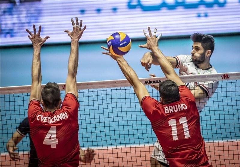 لیگ ملت های والیبال، پیروزی ایران مقابل پرتغال با یک شوک قوی!