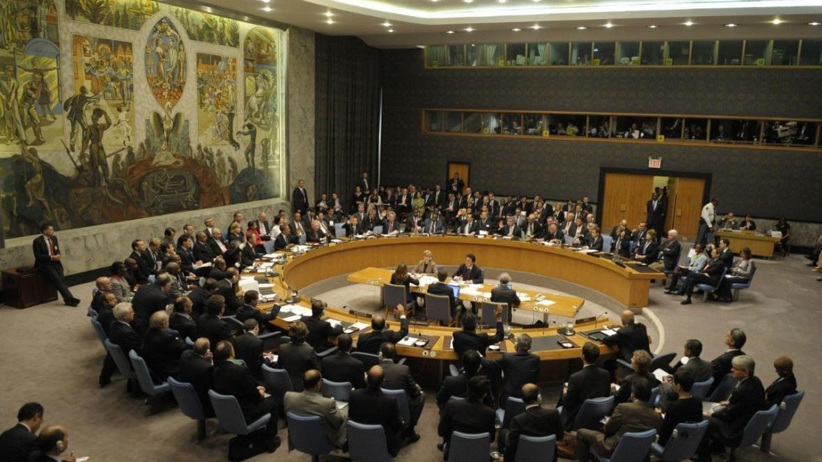 خبرنگاران نشست غیرعلنی شورای امنیت درباره پهپاد سرنگون شده آمریکا شروع شد