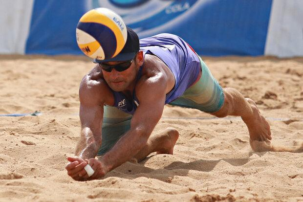 شکست تیم والیبال ساحلی ایران برابر آمریکا