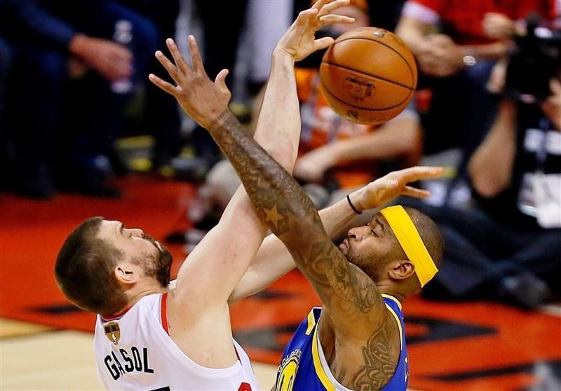فینال لیگ NBA، پیروزی میلی متری وریرز در کانادا، رپتورز در انتظار بازی ششم