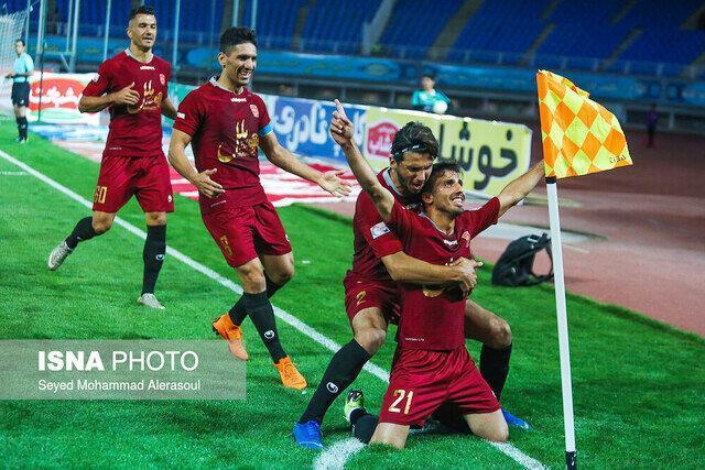 لیگ برتر ، سومین پیروزی پیاپی گل محمدی