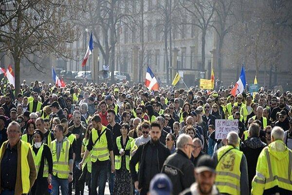جلیقه زردها و چهل و پنجمین هفته اعتراضات