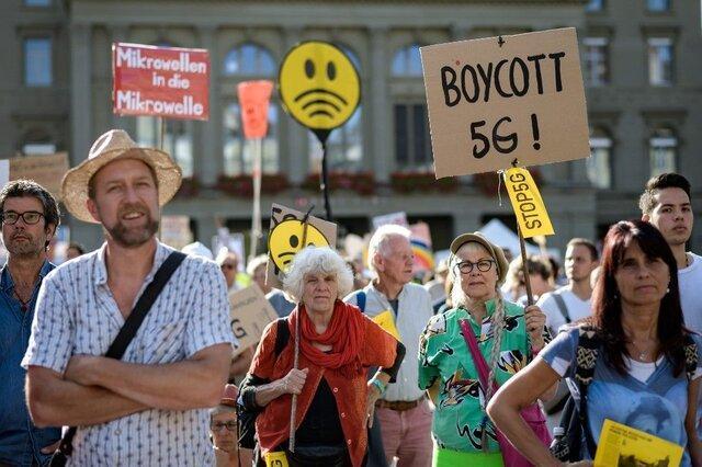 اعتراض سوئیسی ها به توسعه شبکه 5G!