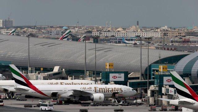 تغییر راستا 2 پرواز به فرودگاه بین المللی دبی