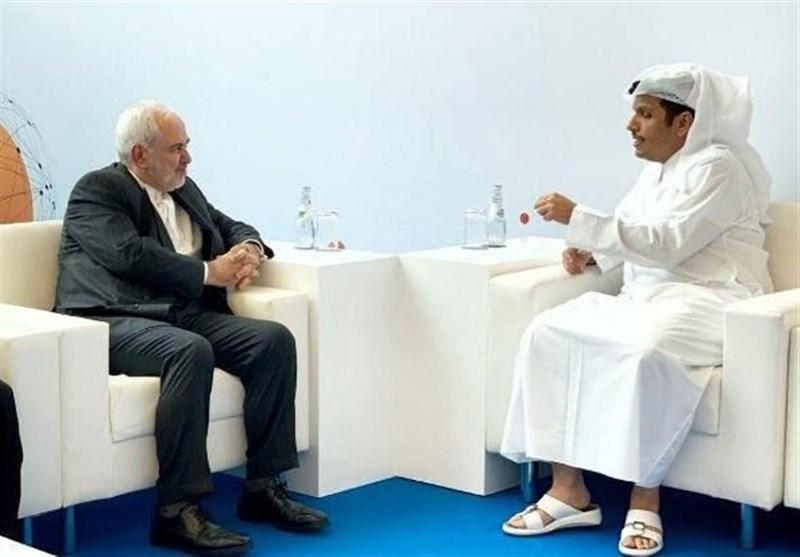 دیدار ظریف و همتای قطری در دوحه