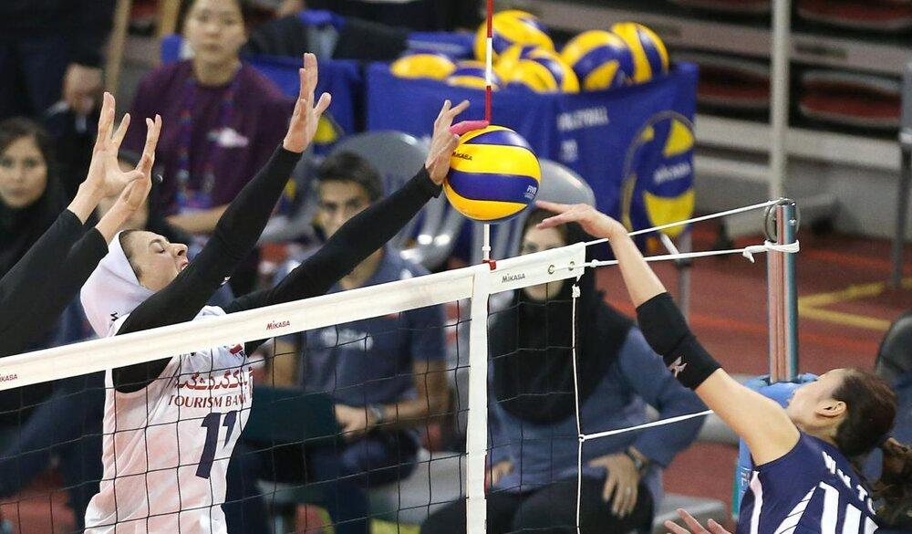 تیم ملی والیبال بانوان امشب به چین می رود