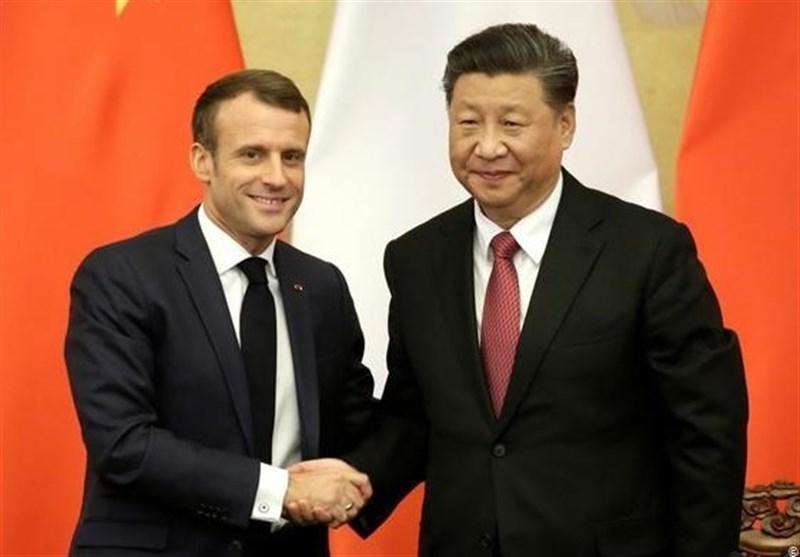 توافق تجاری 13.5 میلیارد یورویی حاصل سفر ماکرون به چین