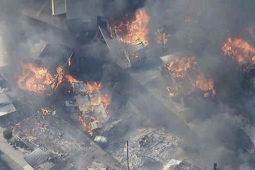 اعلام وضعیت اضطراری در کالیفرنیا؛ آتش می تازد