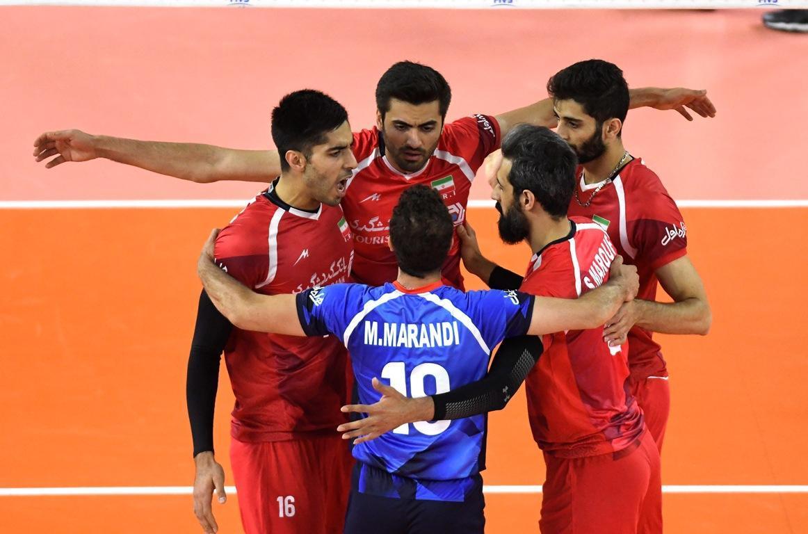 ایران در رتبه دهم لیگ ملت های والیبال باقی ماند