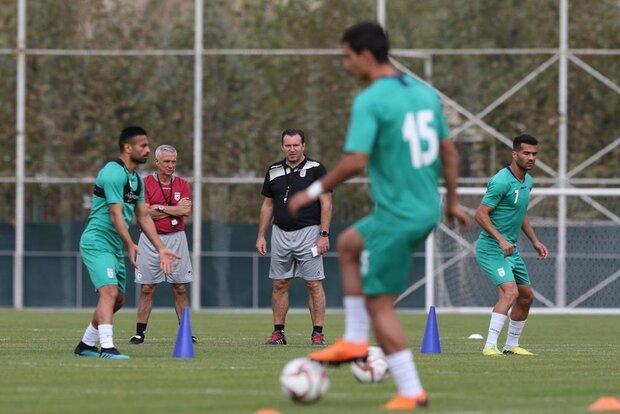 بازگشت مربی تیم ملی به تهران، اعزام گروه هماهنگی به اردن