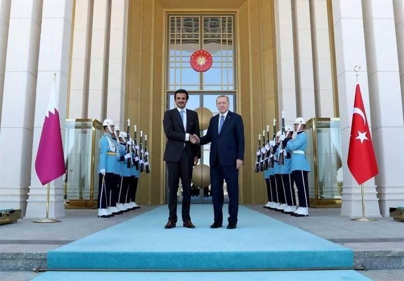 چرا امیر قطر در مراسم استقبال از اردوغان حضور نیافت؟