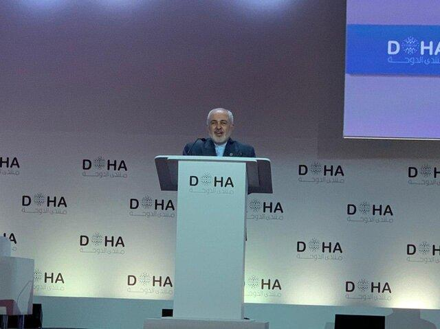 ظریف: صلح هرمز در راستای تعهد ایران برای ایجاد یک چهارچوب منطقه ای برای تعامل سازنده است