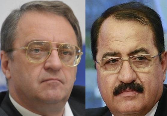 ملاقات سفیر سوریه در مسکو با نماینده پوتین در خاورمیانه