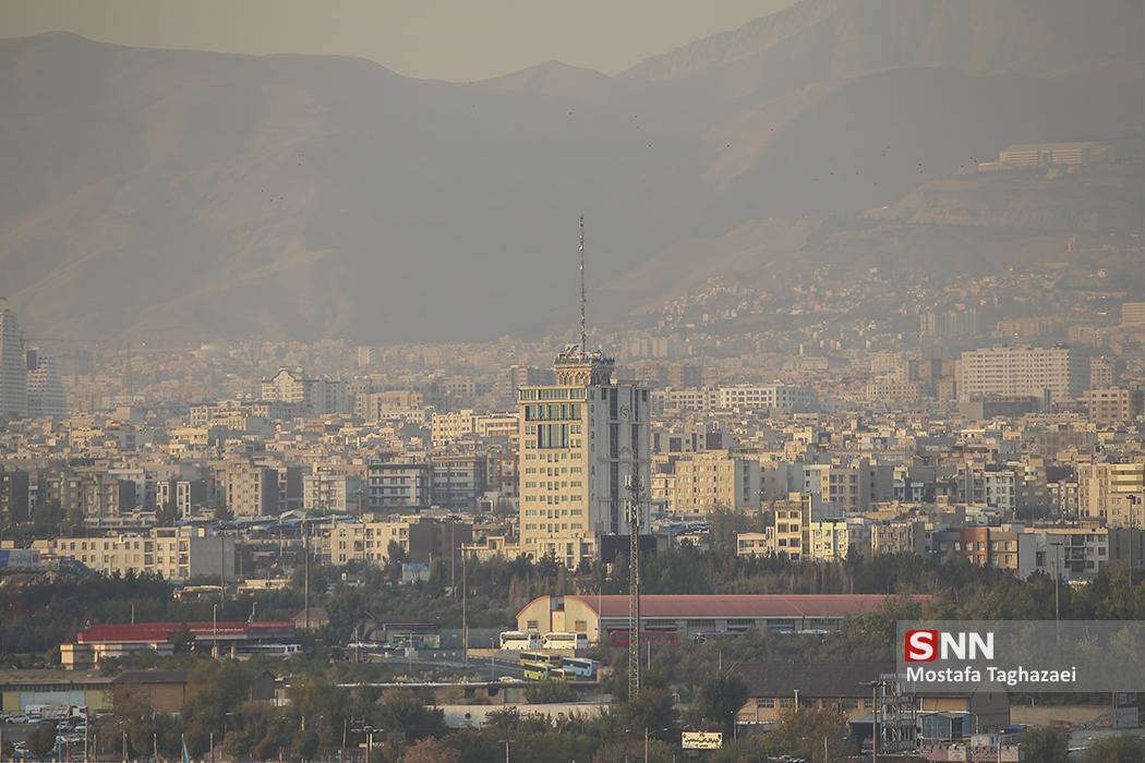 تشدید آلودگی هوا در پایتخت؛ شهرری آلوده ترین نقطه ، تهران پنج شنبه بارانی است
