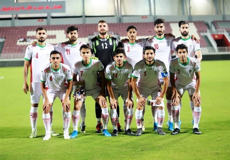 تساوی تیم فوتبال امید ایران مقابل قطر در ثانیه پایانی، میزبان 2 اخراجی داد و 11 نفره ماند!