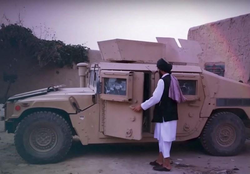 فروش خودروهای زرهی آمریکایی در بازار سیاه افغانستان
