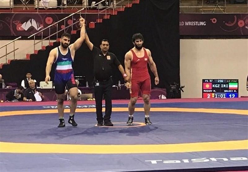 کشتی آزاد قهرمانی آسیا، رقابت 2 ایرانی در فینال و 2 ایرانی در رده بندی