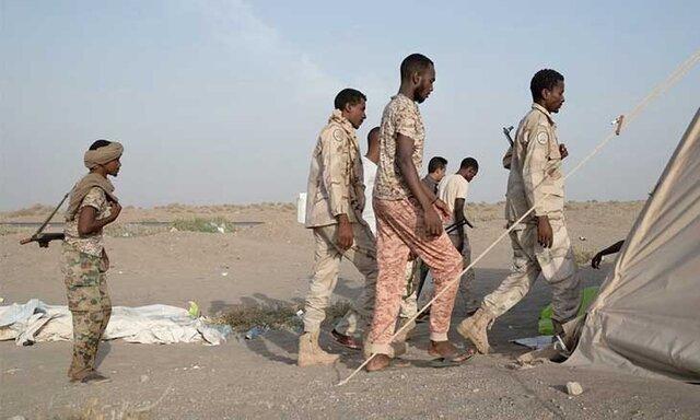 تظاهرات سودانی ها مقابل سفارت امارات در خارطوم علیه اعزام نیرو به یمن و لیبی