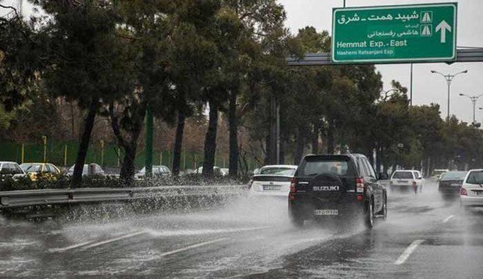 سامانه بارشی جدید وارد کشور می گردد