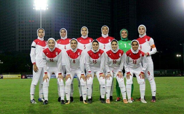 شکست دختران فوتبالیست ایران برابر کره، صعود سخت شد
