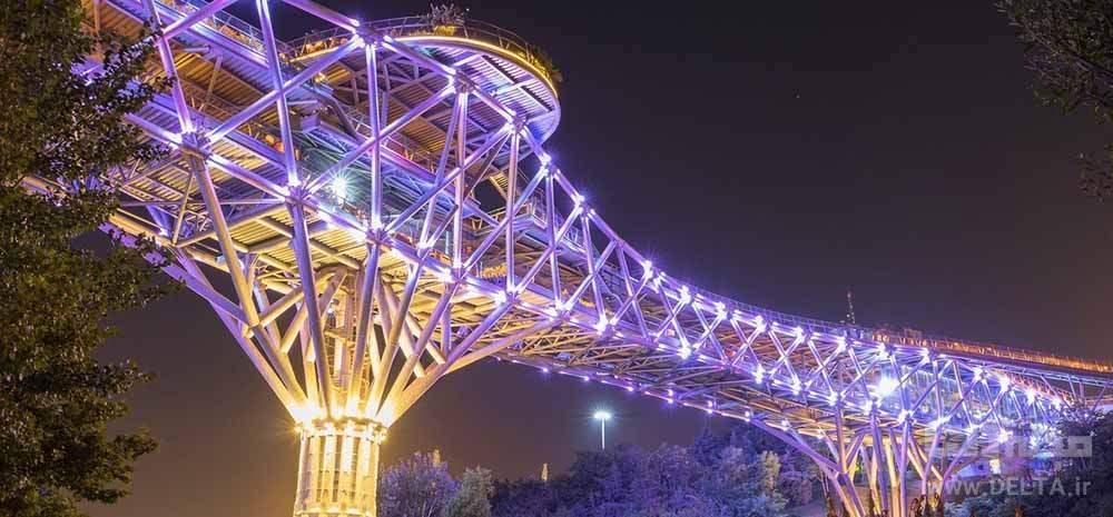 پل طبیعت تهران ؛ بزرگترین پل پیاده روی ایران