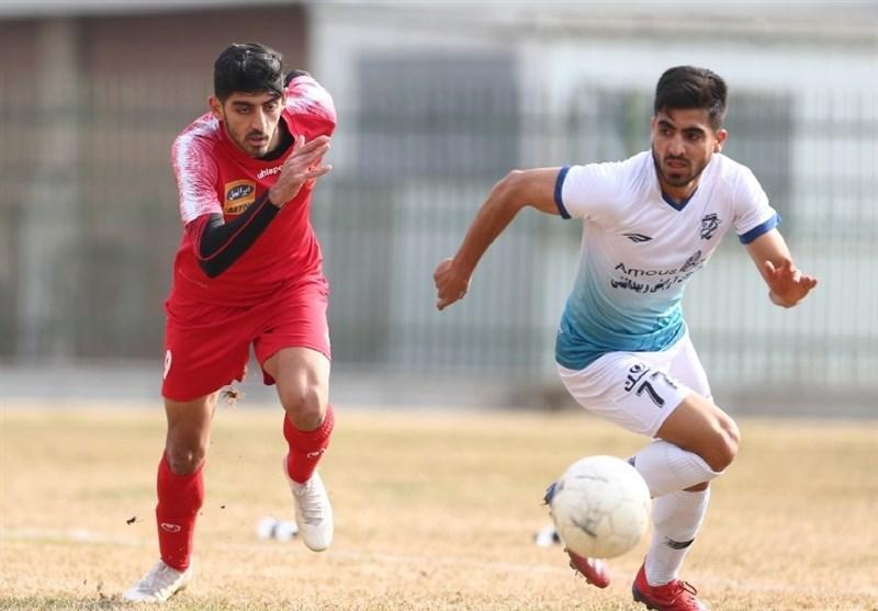 برتری پرسپولیس مقابل تیم جوانان ایران در دیداری محبت آمیز