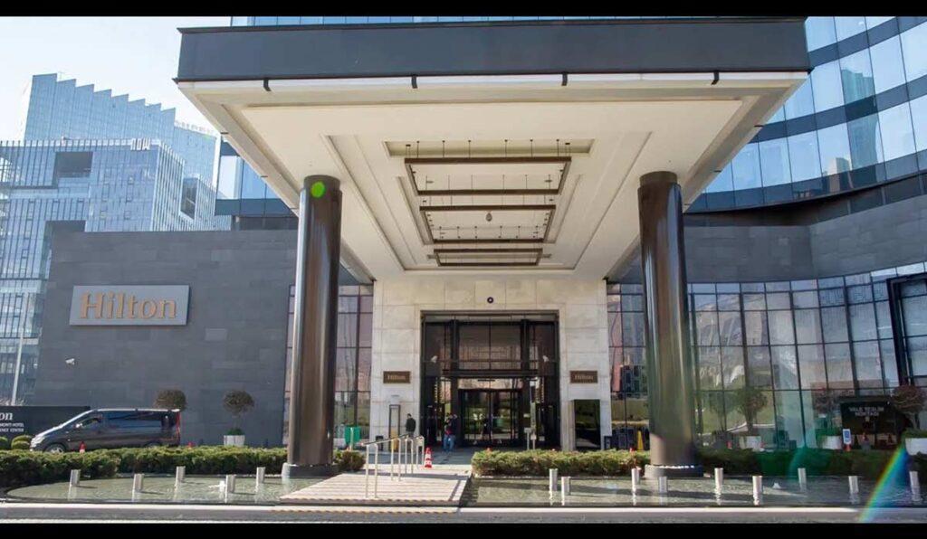 معرفی هتل 5 ستاره Hilton bomonti Istanbul استانبول