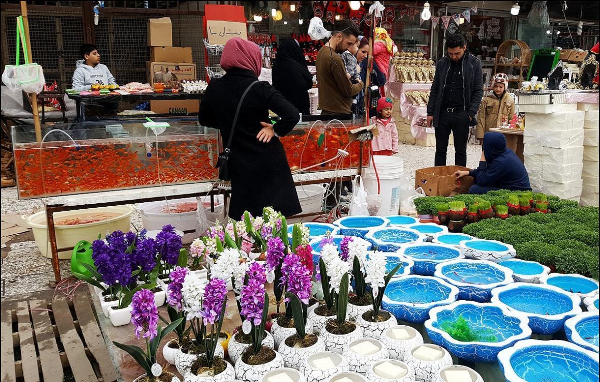 معرفی بازار گل مشهد Mashhad
