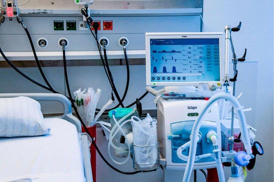 ارسال دستگاه های یاری تنفسی شرکت تحریم شده روسی به آمریکا