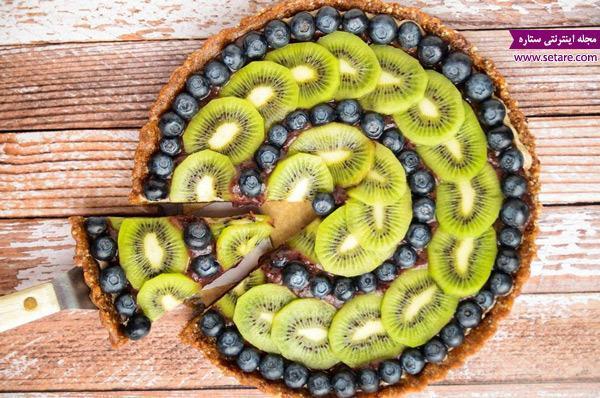 طرز تهیه تارت میوه و ژله