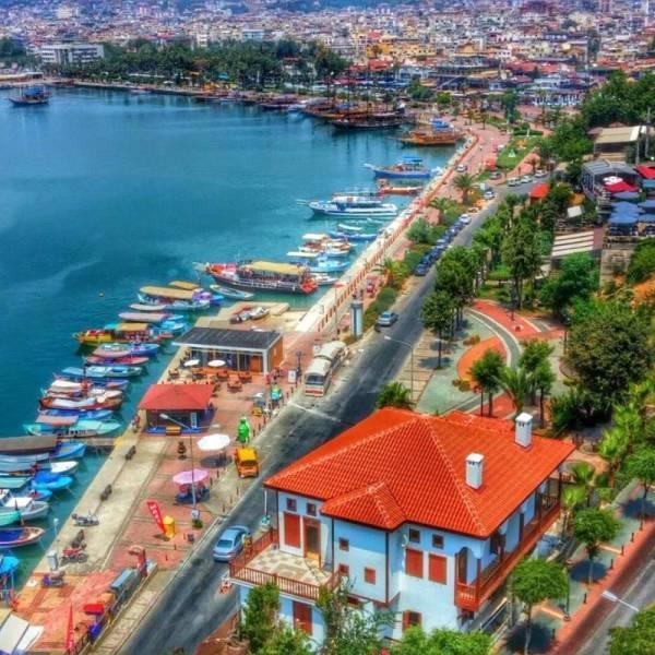 جاهای دیدنی شهر ساحلی آلانیای زیبا در ترکیه