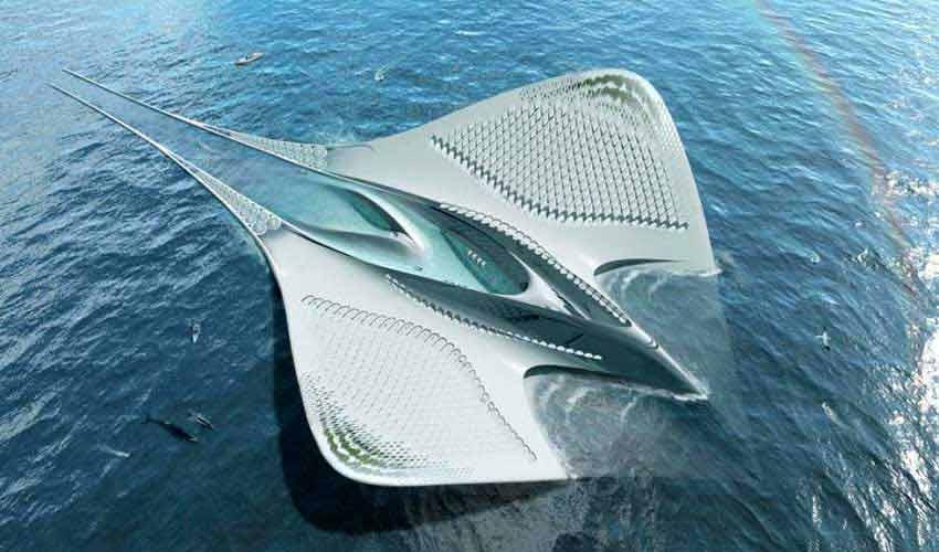 شهر سبز شناوری که چون یک سفره ماهی است