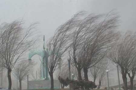 هشدار سازمان هواشناسی نسبت به وزش باد شدید