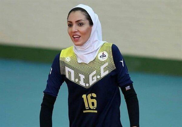 همسر کاوه رضایی در آستانه پیوستن به تیم والیبال شارلوا